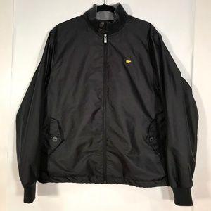 Jack Nicklaus Golf Men's Windbreaker Jacket Black